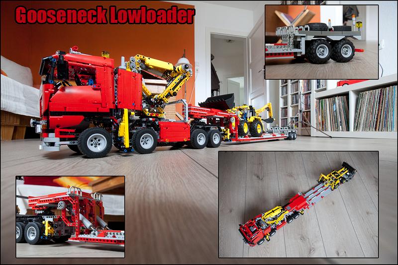 Flatbed Trailer - LEGO Technic and Model Team - Eurobricks